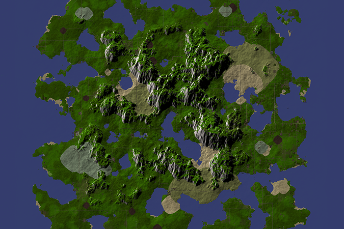A cropped view of the Novus mapping.