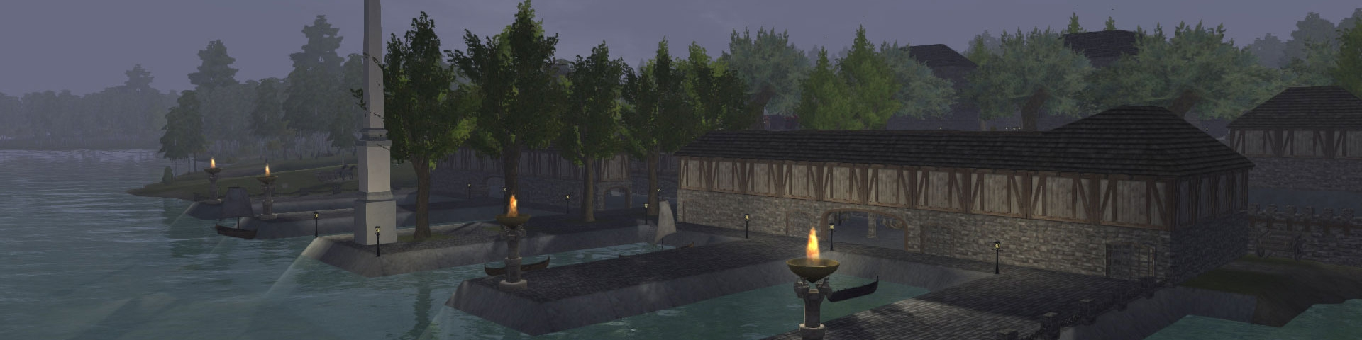 The starter town on Novus is there to assist new players find their place in the world.